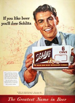 This is an actor that looks like Norman Rockwell trying to sell you Schlitz.